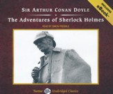 The Adventures of Sherlock Holmes, Unabridged Audiobook on CD, includes eBook