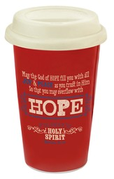 Hope, Retro Travel Mug