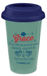 Grace, Retro Travel Mug