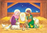 In The Manger Boxed Christmas Cards