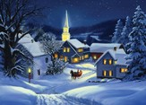 Christmas Steeple,  15 Boxed Christmas Cards