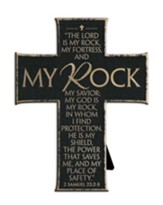 The Lord Is My Rock and My Fortress Cross