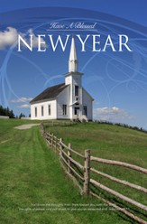 Blessed New Year (Jeremiah 29:11) Bulletins, 100