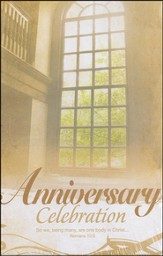 Anniversary Celebration (Romans 12:5) Bulletins, 100