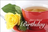 Birthday Rose (2 Corinthians 13:11) Postcards, 25