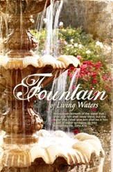 Fountain of Living Waters (John 4:14) Bulletins, 100