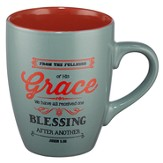 Grace, Retro Mug, Green