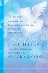 I Do Believe (Gaither) Bulletins, 100