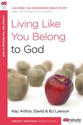 Living Like You Belong to God - eBook
