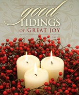 Good Tidings of Great Joy (Luke 2:10) Large Bulletins, 100