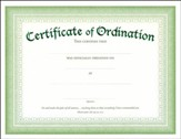 Embossed Ordination Certificates (Matthew 28:19-20, NIV) 6