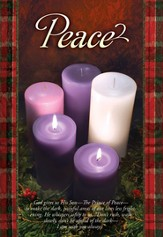 Peace (Psalm 42:1) Advent Bulletins, 100