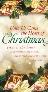 The Heart of Christmas (Roy Lessin) Offering Envelopes, 100