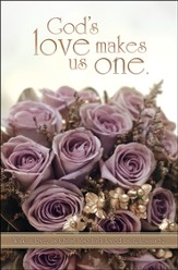 God's Love Makes Us One (Ephesians 5:2) Bulletins, 100
