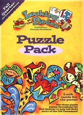 Looking at the Pieces, Fall: Puzzle Pack, Grade K/1