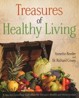 Treasures of Healthy Living: A Journey Unveiling God's Plan for Ultimate Health and Relationships - Slightly Imperfect
