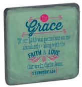 Grace, Retro Wood Magnet