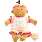 Personalized, Baby Stella Doll, Beige