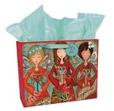 Three Angels Gift Bag, Medium
