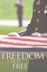Freedom (John 15:13) Bulletins, 100