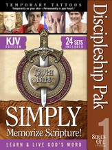 TruthTats Church Discipleship Pak, Series One, KJV
