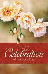Mother's Day Celebration (Proverbs 31:21) Bulletins, 100