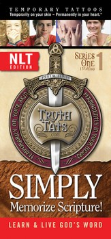 TruthTats Scripture Memorization Program, Series One (NLT)