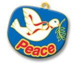 FaithWeaver Friends, Fruit of the Spirit Keys - Peace, Package of 5, Preschool & Elementary Winter 2014-15