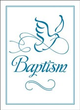 Embossed Baptism Certificates (Mark 16:16, NIV) 6