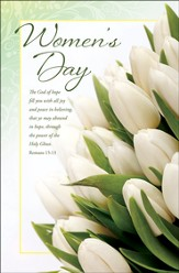 Women's Day (Romans 15:13) Bulletins, 100