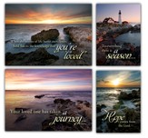 Light in the Darkness, Box of 12 Assorted Sympathy Cards