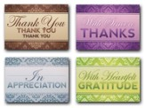 A Word of Thanks, Box of 12 Assorted Thank You Cards