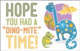 Dinosaurs, Good Time (Psalm 35:9, NIRV) Postcards, 25