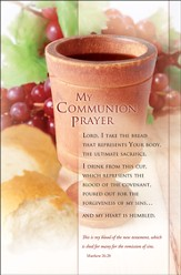 My Communion Prayer (Matthew 26:28) Bulletins, 100