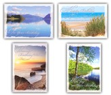 Peaceful Shores, Box of 12 Assorted Birthday Cards