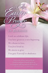 Easter Prayer (Ephesians 5:2, NIV) Bulletins, 100