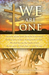 We are One (Psalm 133:1, NIV) Bulletins, 100