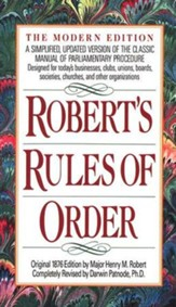Robert's Rules of Order, Revised