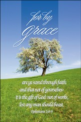 For by Grace Bulletins/100 (Ephesians 2:8, KJV)