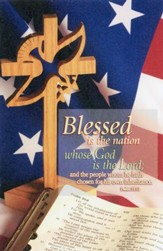 Blessed Is the Nation (Psalm 33:12, KJV)/Bulletins, 100