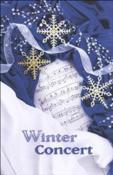 Winter Concert, Snowflakes, Program Covers/Bulletins, 100
