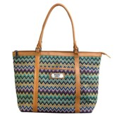 Faith, Chevron Tote Bag