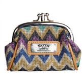 Faith, Chevron Coin Purse