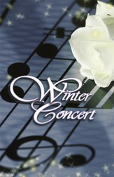 Winter Concert, Bulletin/Program Covers, 100