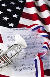 Patriotic, Bugle and Star Spangled Banner, Bulletins, 100