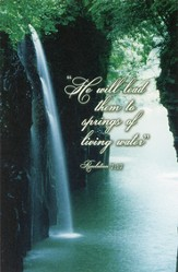 Living Water/Waterfall, Bulletins, 100