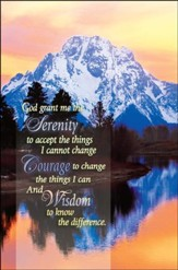 Serenity Prayer, Bulletins, 100