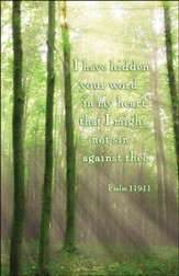 I Have Hidden Your Word (Psalm 119:11), Bulletins, 100