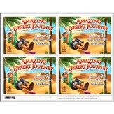 Amazing Desert Journey Publicity Postcard (Pack of 24)