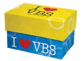 I Heart Vbs Index Card Box